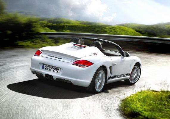 Новый Porsche Boxter Spyder