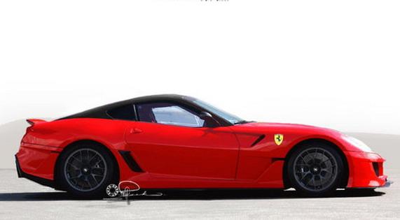 Ferrari 599 GTO Limited Edition