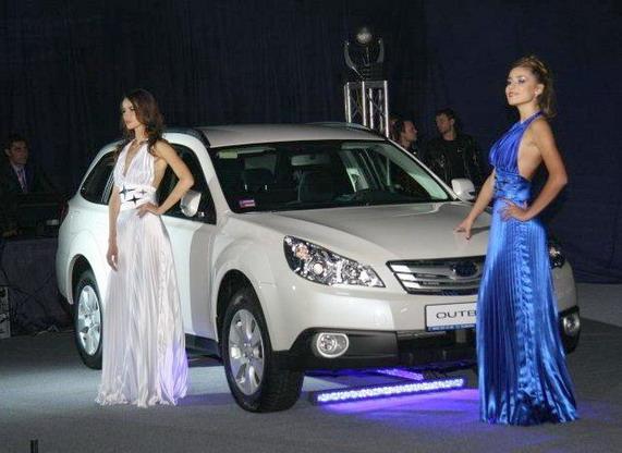 обновленные Subaru Legacy и Outback