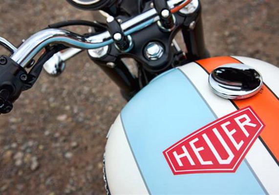 мотоцикл Triumph Bonneville TAG Heuer