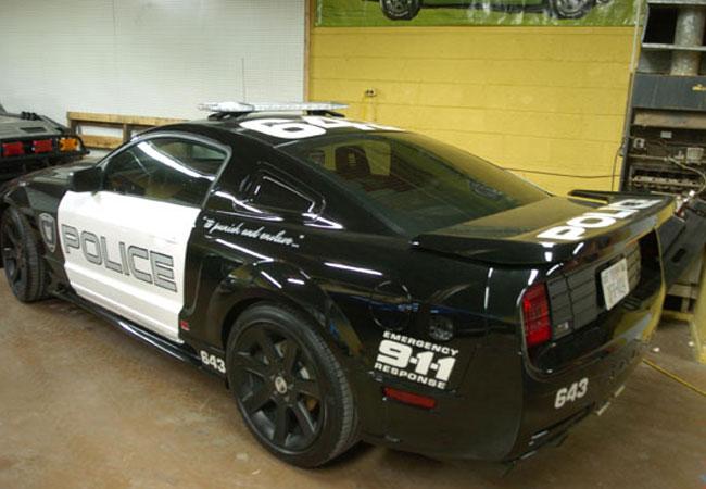 Mustang Saleen Barricade #2