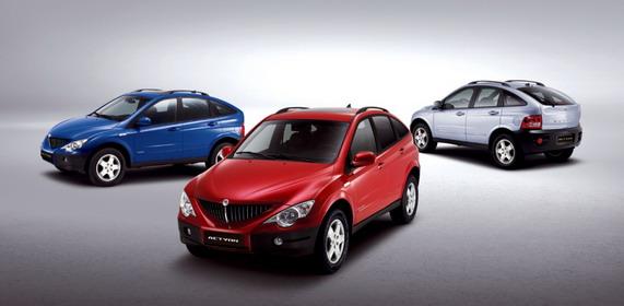 продажа автомобилей SsangYong
