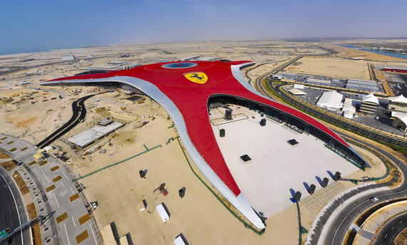 Ferrari World в Абу-Даби