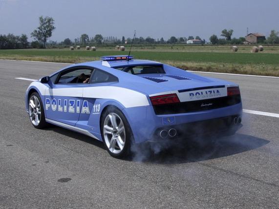 Lamborghini Gallardo LP560-4 Polizia Stradale