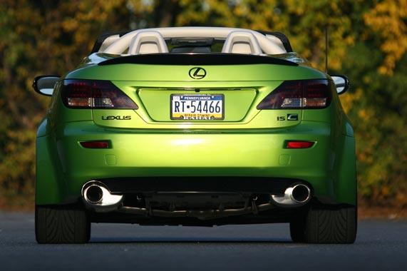 Fox Marketing Lexus IS350C 2010