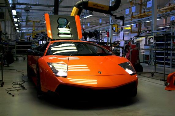 фабрика Lamborghini