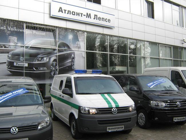 Бронированные Volkswagen