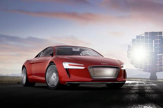 Электрический Audi
