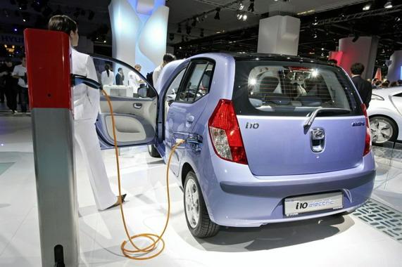 Электрический Hyundai i10