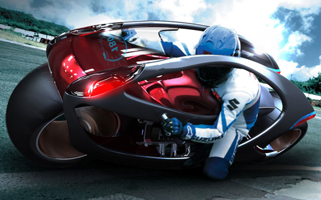 Концепт мотоцикла Hyundai