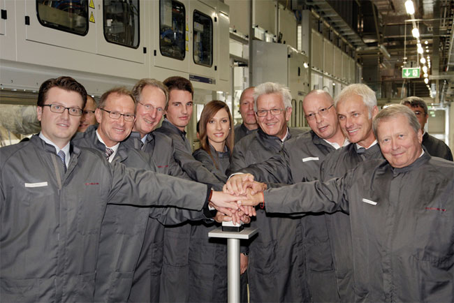 Новый покрасочный цех Porsche AG